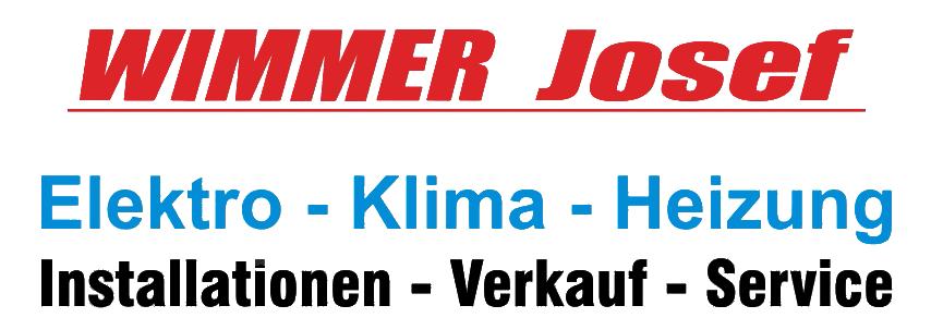 Josef Wimmer - Oberösterreich | Klimaprofi-Elektrotechnik-Heizung-Klimatechniker-reparatur-beratung-planung-installation-wartung-montage-verkauf-kompressoren-mobile-geräte-decken-geräte-multisplit-geräte-fernbedienung